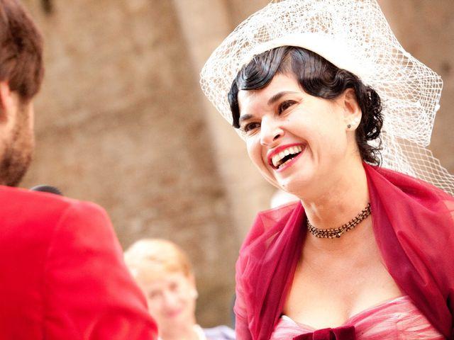 Il matrimonio di Fabrizio e Kiki a Chiusdino, Siena 11