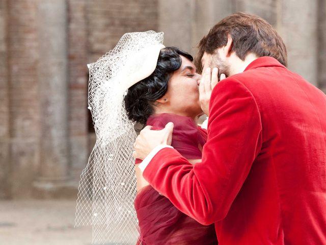Il matrimonio di Fabrizio e Kiki a Chiusdino, Siena 13
