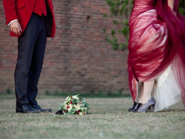 Il matrimonio di Fabrizio e Kiki a Chiusdino, Siena 14