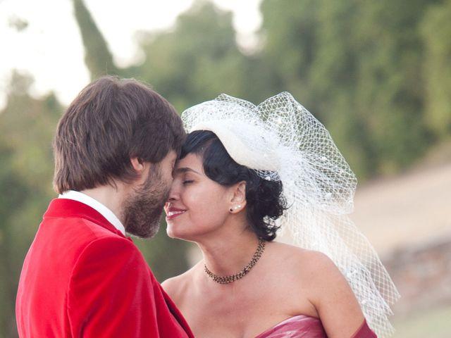 Il matrimonio di Fabrizio e Kiki a Chiusdino, Siena 17