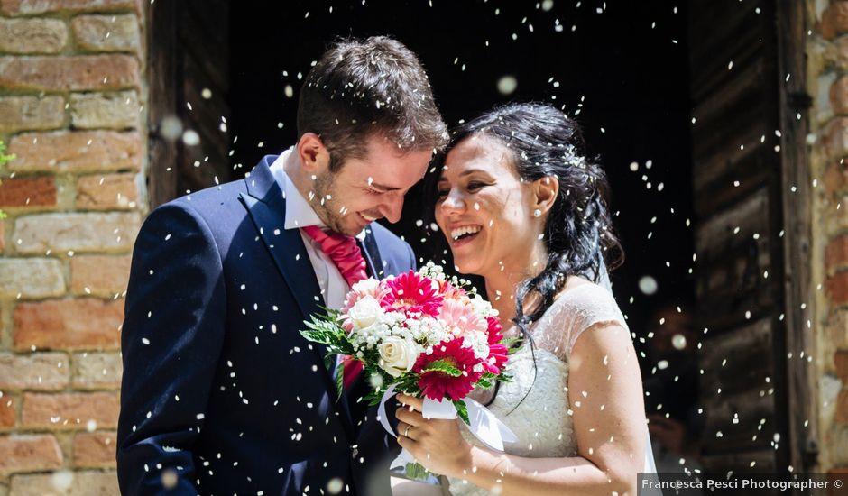 Il matrimonio di Davide e Marica a Stradella, Pavia