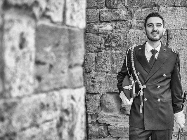 Il matrimonio di Emanuele e Erina a San Gimignano, Siena 15