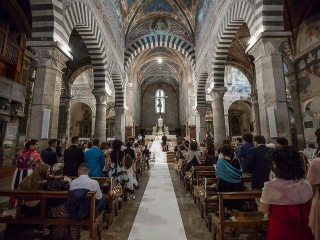 Il matrimonio di Emanuele e Erina a San Gimignano, Siena 34