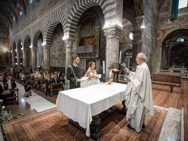 Il matrimonio di Emanuele e Erina a San Gimignano, Siena 35