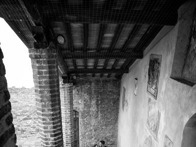 Il matrimonio di Emanuele e Erina a San Gimignano, Siena 40