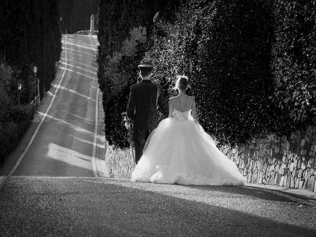 Il matrimonio di Emanuele e Erina a San Gimignano, Siena 48