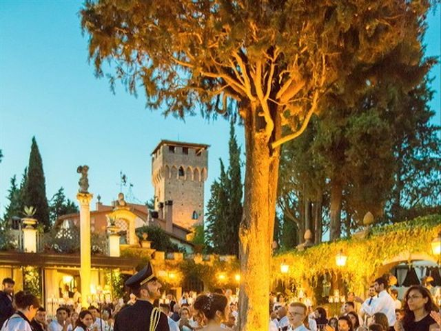 Il matrimonio di Emanuele e Erina a San Gimignano, Siena 54