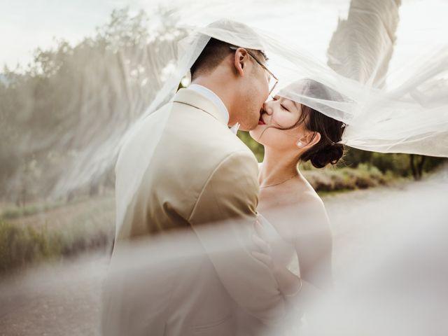 Le nozze di Shi e Su.