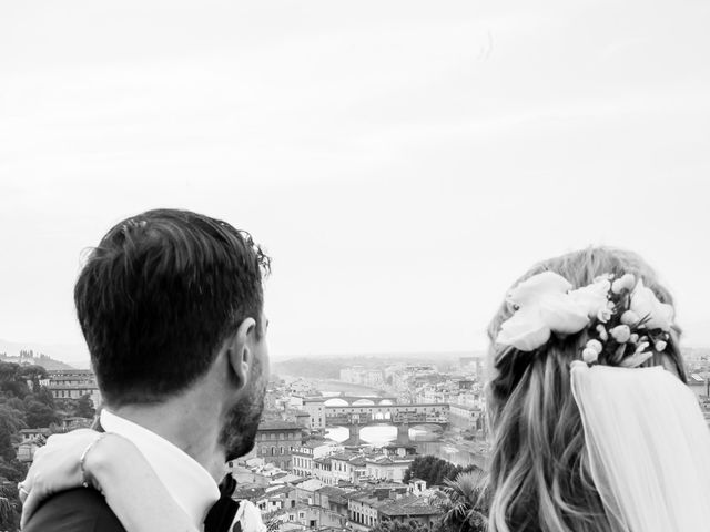 Il matrimonio di Pietro e Sabine a Firenze, Firenze 50