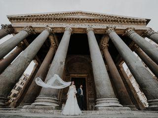 Le nozze di Gabriele e Maria Giovanna