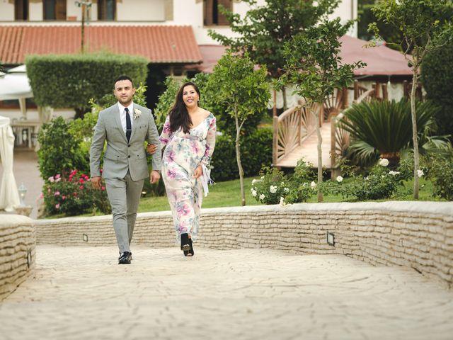 Il matrimonio di Mohammed e Camille a Cerveteri, Roma 12