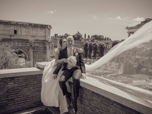 Il matrimonio di Andrea e Nadia a Roma, Roma 11