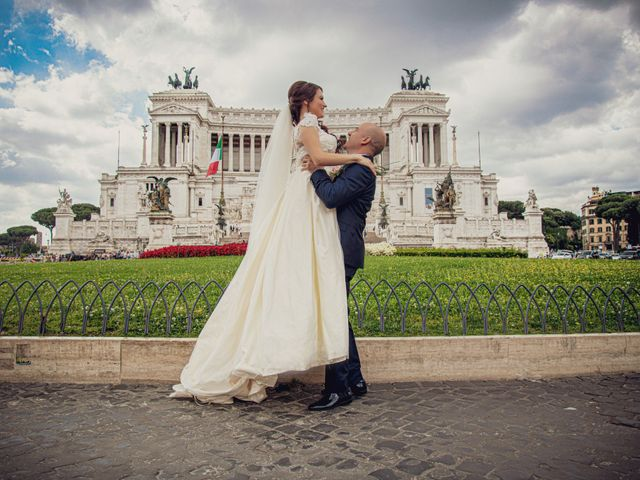 Il matrimonio di Andrea e Nadia a Roma, Roma 26