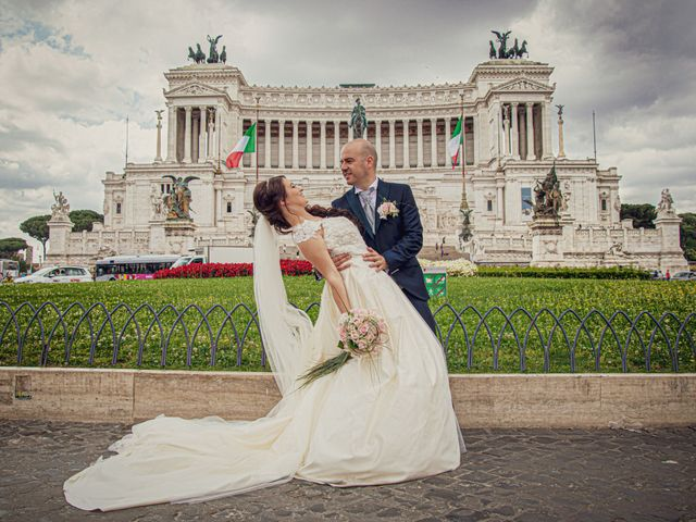 Il matrimonio di Andrea e Nadia a Roma, Roma 27