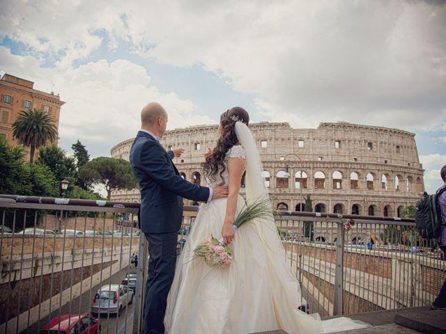 Il matrimonio di Andrea e Nadia a Roma, Roma 32