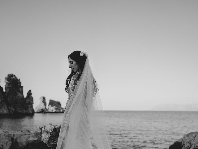 Il matrimonio di Claudia e Sergio a Castellammare del Golfo, Trapani 23