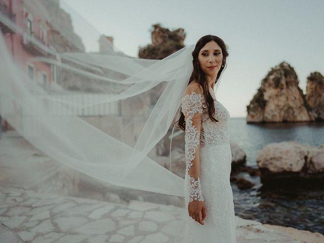 Il matrimonio di Claudia e Sergio a Castellammare del Golfo, Trapani 24