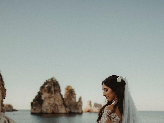 Il matrimonio di Claudia e Sergio a Castellammare del Golfo, Trapani 25