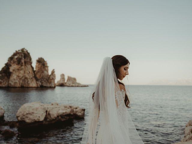 Il matrimonio di Claudia e Sergio a Castellammare del Golfo, Trapani 30