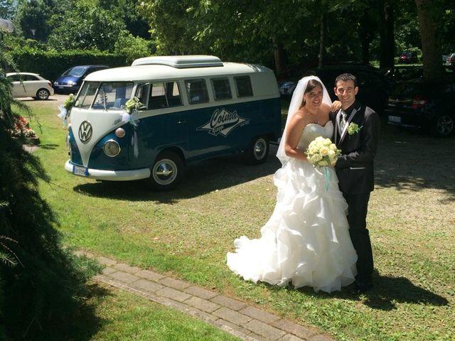 Il matrimonio di Mara e Fabio a Marcallo con Casone, Milano 26