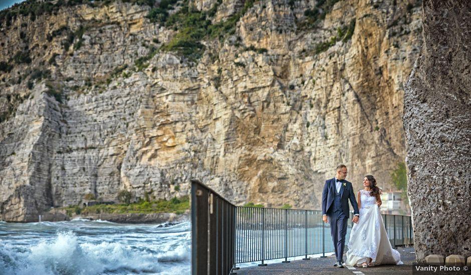 Il matrimonio di Mariateresa e Emiddio a Sorrento, Napoli