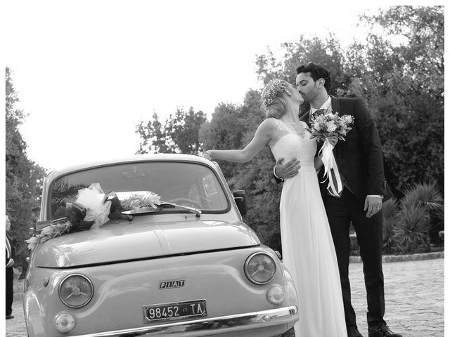 Il matrimonio di Vincenzo e Anna a Grottaglie, Taranto 93
