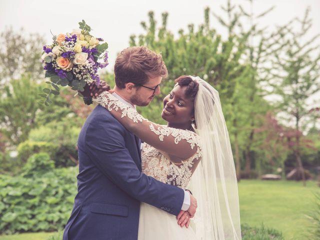 Le nozze di Adeola e Matthew