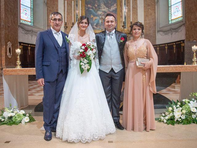 Il matrimonio di Andrea e Denise a Montichiari, Brescia 110