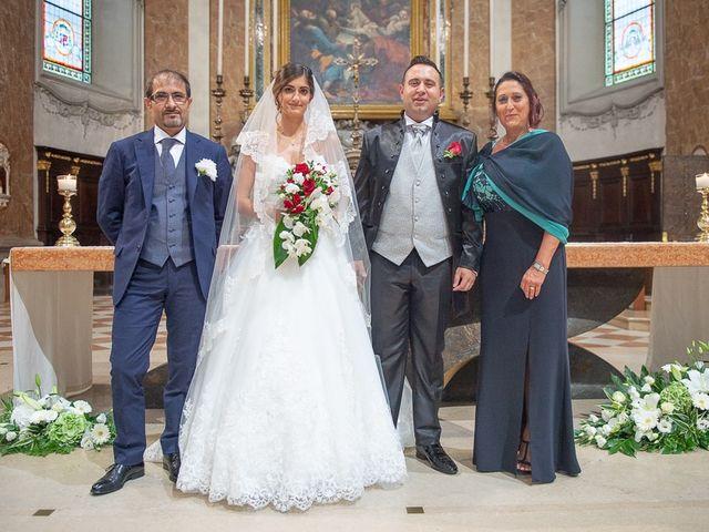 Il matrimonio di Andrea e Denise a Montichiari, Brescia 112