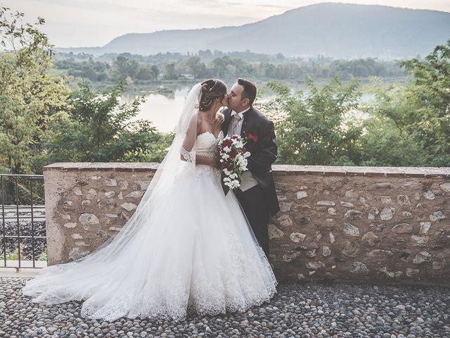 Il matrimonio di Andrea e Denise a Montichiari, Brescia 134