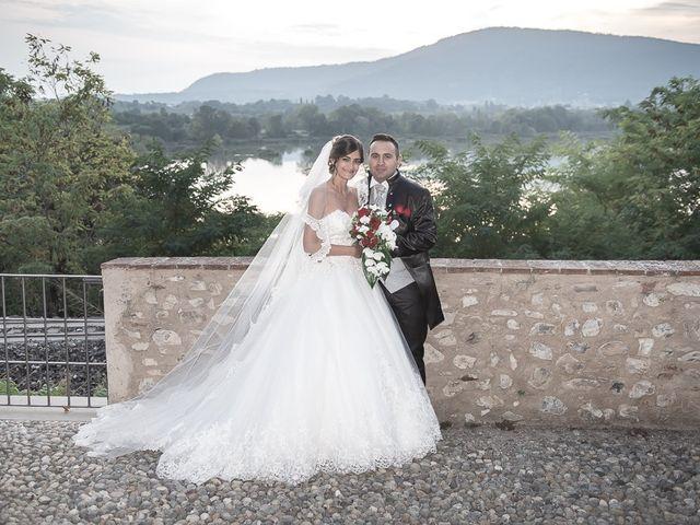 Il matrimonio di Andrea e Denise a Montichiari, Brescia 135