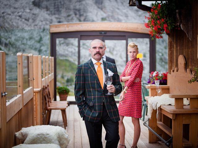 Il matrimonio di Alessandro e Amy a Cortina d'Ampezzo, Belluno 12