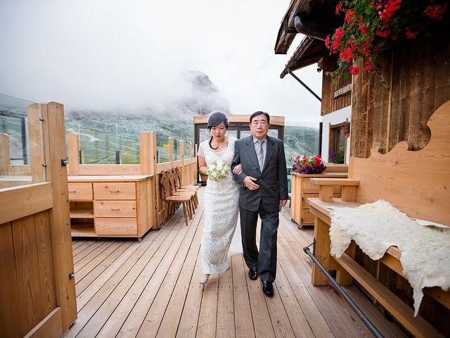Il matrimonio di Alessandro e Amy a Cortina d'Ampezzo, Belluno 15