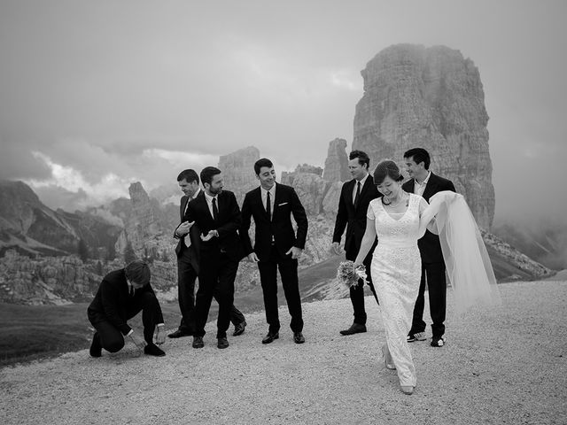 Il matrimonio di Alessandro e Amy a Cortina d'Ampezzo, Belluno 24