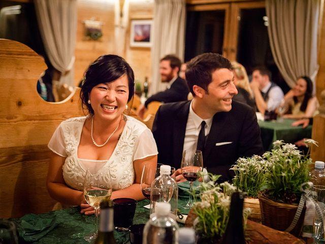 Il matrimonio di Alessandro e Amy a Cortina d'Ampezzo, Belluno 39