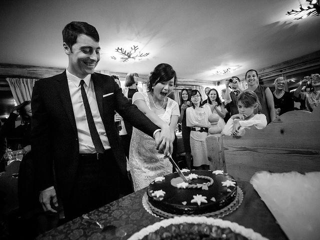 Il matrimonio di Alessandro e Amy a Cortina d'Ampezzo, Belluno 43