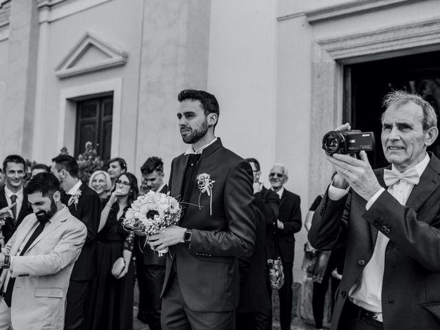 Il matrimonio di Enrico e Giulia a Prato Sesia, Novara 32