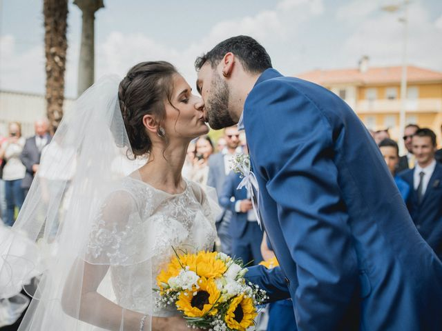 Il matrimonio di Enrico e Giulia a Prato Sesia, Novara 34