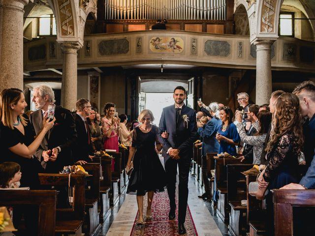 Il matrimonio di Enrico e Giulia a Prato Sesia, Novara 37