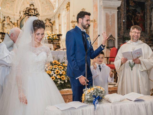 Il matrimonio di Enrico e Giulia a Prato Sesia, Novara 44