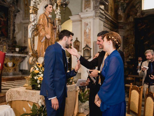 Il matrimonio di Enrico e Giulia a Prato Sesia, Novara 45