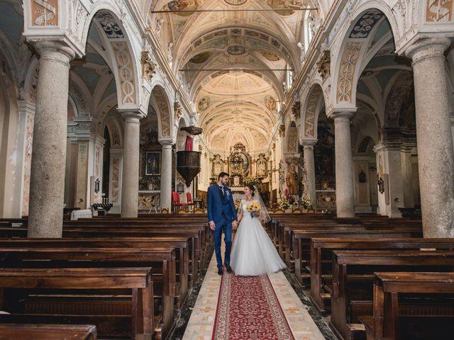 Il matrimonio di Enrico e Giulia a Prato Sesia, Novara 58