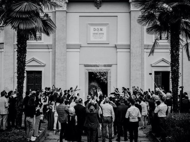 Il matrimonio di Enrico e Giulia a Prato Sesia, Novara 62