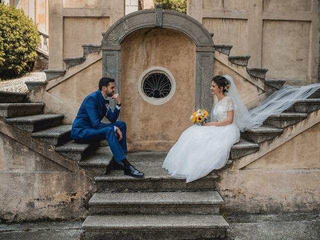 Il matrimonio di Enrico e Giulia a Prato Sesia, Novara 64