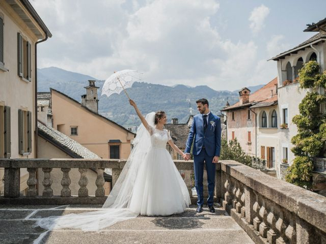 Il matrimonio di Enrico e Giulia a Prato Sesia, Novara 70