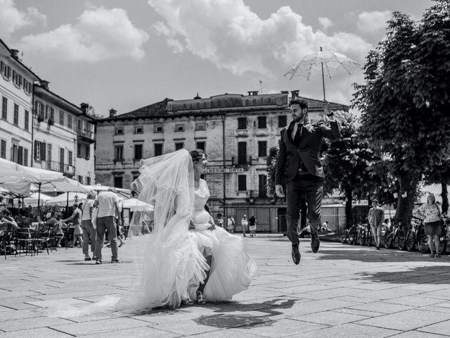 Il matrimonio di Enrico e Giulia a Prato Sesia, Novara 71