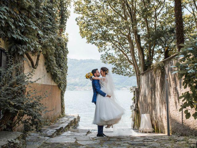 Il matrimonio di Enrico e Giulia a Prato Sesia, Novara 73