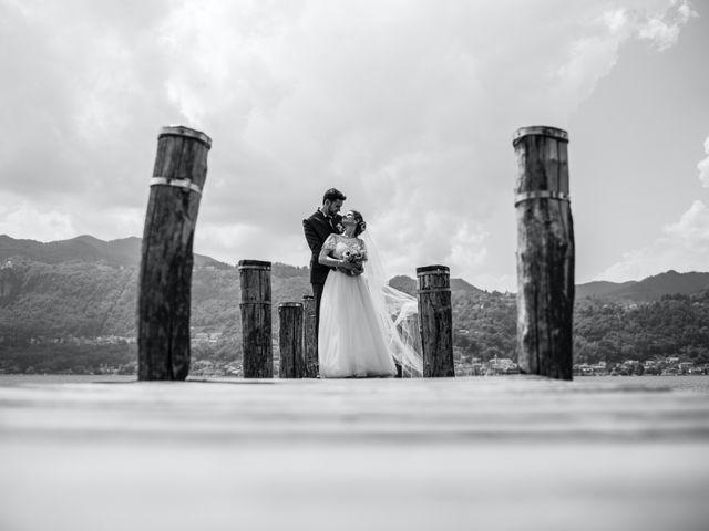Il matrimonio di Enrico e Giulia a Prato Sesia, Novara 74