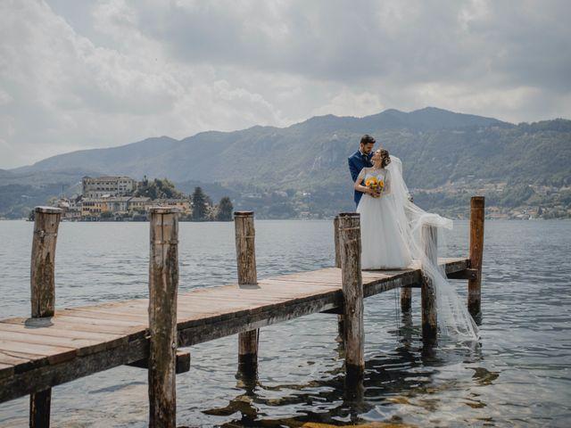 Il matrimonio di Enrico e Giulia a Prato Sesia, Novara 75