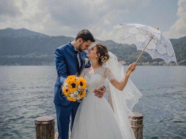 Il matrimonio di Enrico e Giulia a Prato Sesia, Novara 78